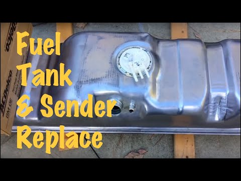 1994 95 96 97 98 GM Long Bed Pickup Truck Stock Fuel Tank Replacement (Chevy & GMC)