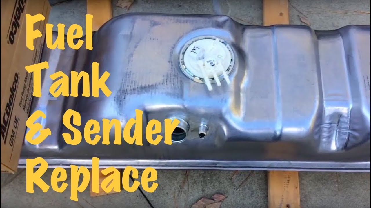 hight resolution of 1994 95 96 97 98 gm long bed pickup truck stock fuel tank replacement chevy gmc
