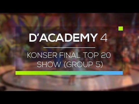 Highlight D'Academy 4 - Konser Final Top 20 Show (Group 5)
