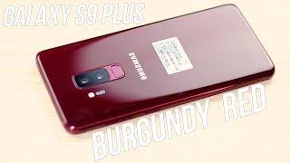 Mở hộp Galaxy S9 Plus Burgundy Red đầu tiên tại Việt Nam