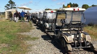 Part 3 - Forgotten World Adventures and a Train of Rail Mounted Golf Carts