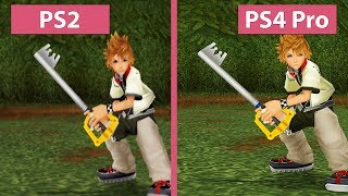 Kingdom Hearts II – PS2 vs. PS3 vs. PS4 vs. PS4 Pro 4K UHD Graphics Comparison
