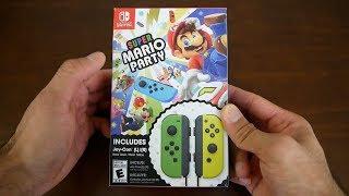Super Mario Party/Joy-Con Nintendo Switch Holiday Bundle!!