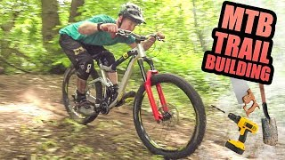 BUILDING MTB FREERIDE JUMPS AND TRAILS