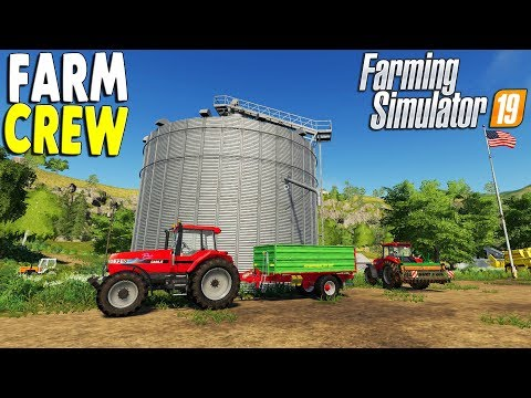 Farming Simulator 19 Multiplayer | USA Farming Map & New Equipment Showcase  | Pre-Release Gameplay