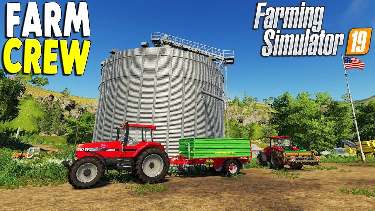 Farming Simulator 19 Multiplayer | USA Farming Map & New Equipment