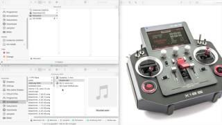 HORUS X12 wav Datei selbst erstellen (Sprachausgabe)