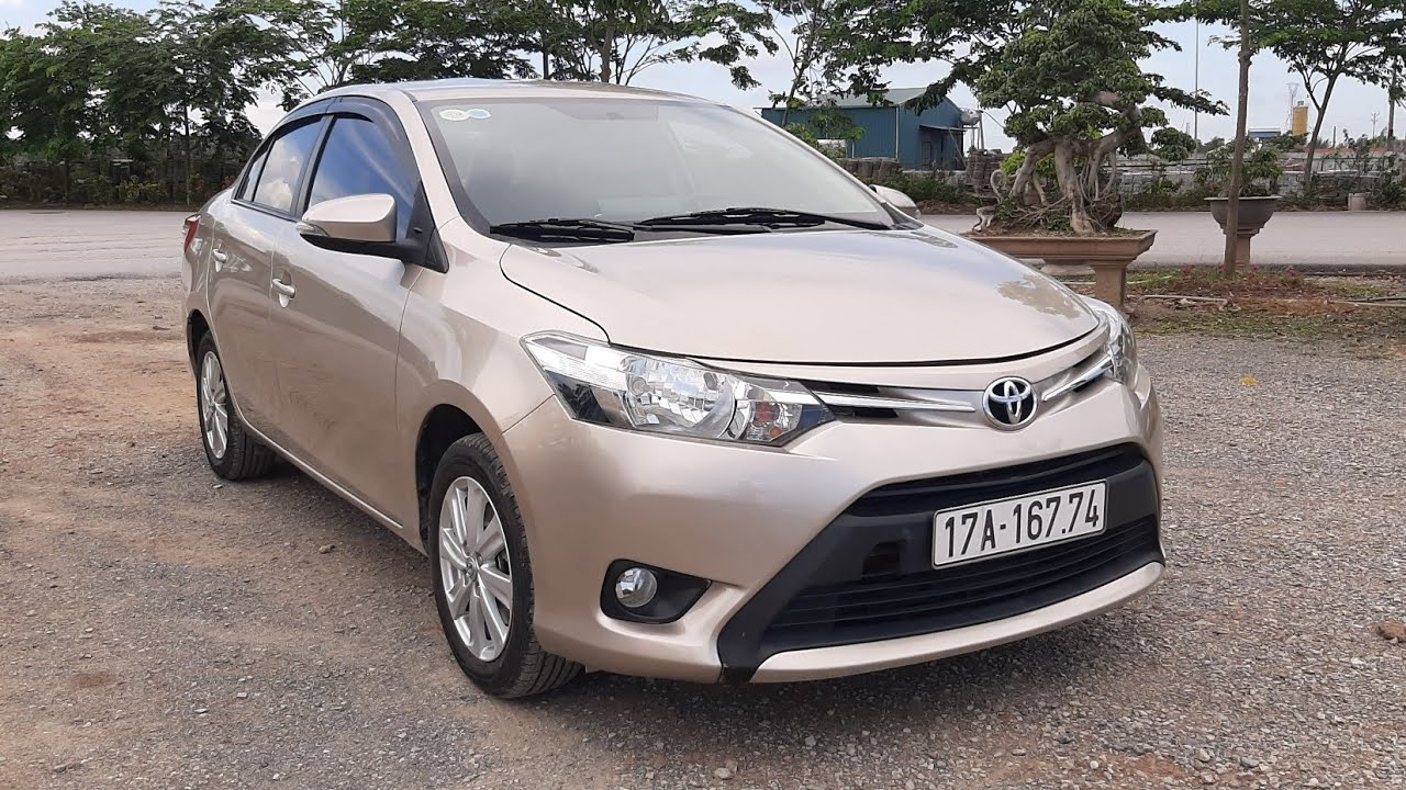 6/7: Toyota Vios E 2017 số tự động mẫu xe gia đình zin đẹp.Lh:0986304686
