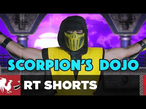 RT Shorts - Scorpion's Family Fitness Dojo - Mortal Kombat Parody