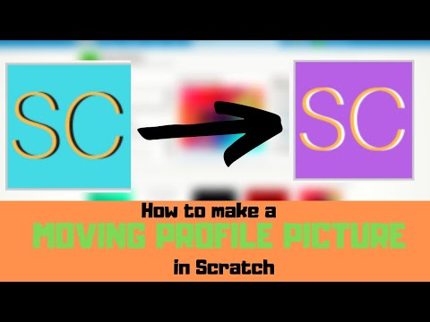 How To Make A Moving Profile Picture (GIF) In Scratch!