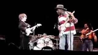 8 year old guitar whiz Quinn Sullivan and Buddy Guy