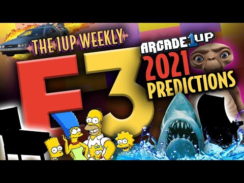 The 1up Weekly - E3 Predictions | Arcade1up / AtGames / iiRcade / Unico from The1upWeekly