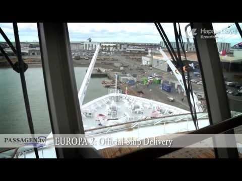 PASSAGEN.tv Episode 4: EUROPA 2 - Official Ship Delivery