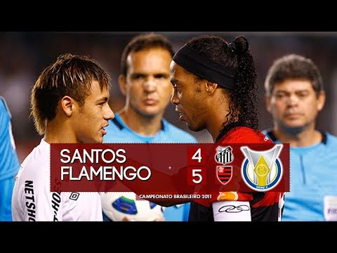 Remembering one of the craziest games in Brazil's Série A ever: Neymar's Santos 4 x 5 Ronaldinho's Flamengo (2011)