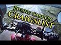 XR650L Vlog | Buying a car on Craigslist