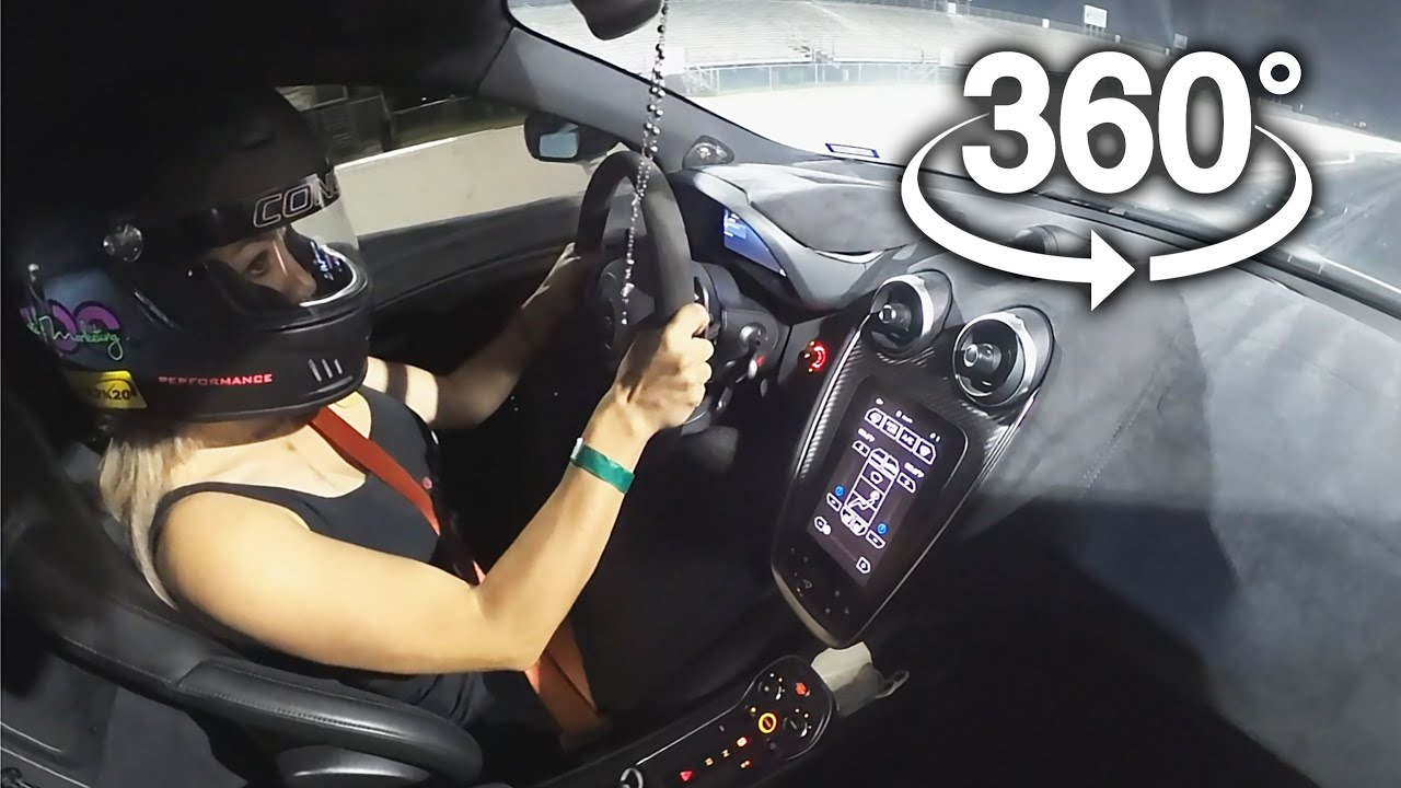 In-Car Drag Racing - 360° Video