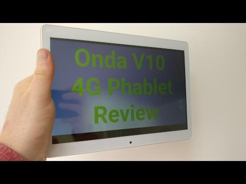 Onda V10 4G Phablet Review
