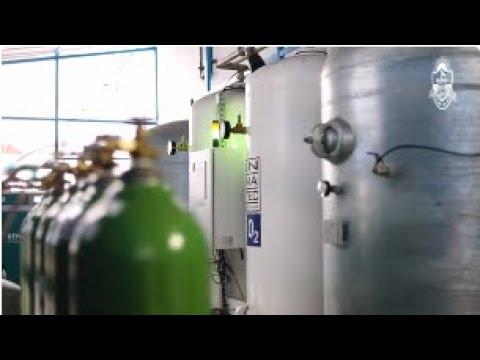 2 nuevas plantas de oxígeno en el Hospital Nacional