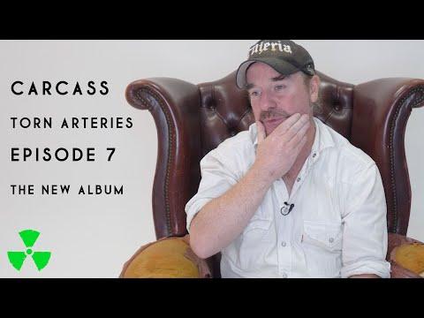 CARCASS - TORN ARTERIES Episode : The New Album (OFFICIAL TRAILER)