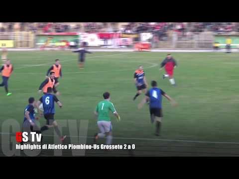 Gs Tv - highlights di Piombino-Grosseto 2 a 0