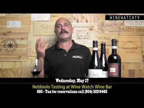 Nebbiolo Tasting at Wine Watch Wine Bar - click image for video