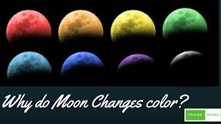 Why do Moon Changes colour?
