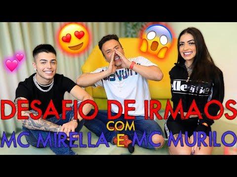 DESAFIO DE IRMAOS: MC MIRELLA E MC MURILO  MatheusMazzafera