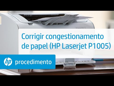 Corrigir Congestionamento De Papel Hp Laserjet P1005