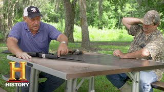 Swamp People: Troy and Gee on Misfiring Guns (Season 9) | History