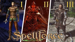 Evolution of SpellForce games