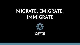 migrate emigrate immigrate