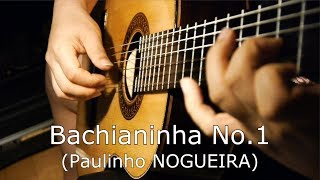 "Yoo Sik Ro (노유식) plays ""Bachianinha No.1"" by Paulinho NOGUEIRA"