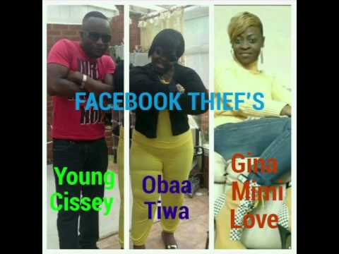 THE FACEBOOK SCAMMERS:YOUNG CISSEY,OBAA TIWAH AND GINA MIMILOVE (The dog lover)