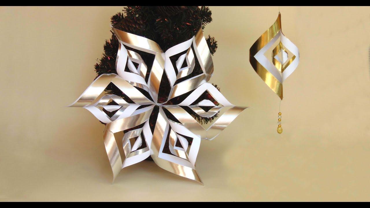 Como hacer una estrella twister para navidad youtube - Adornos para navidad con pinas ...