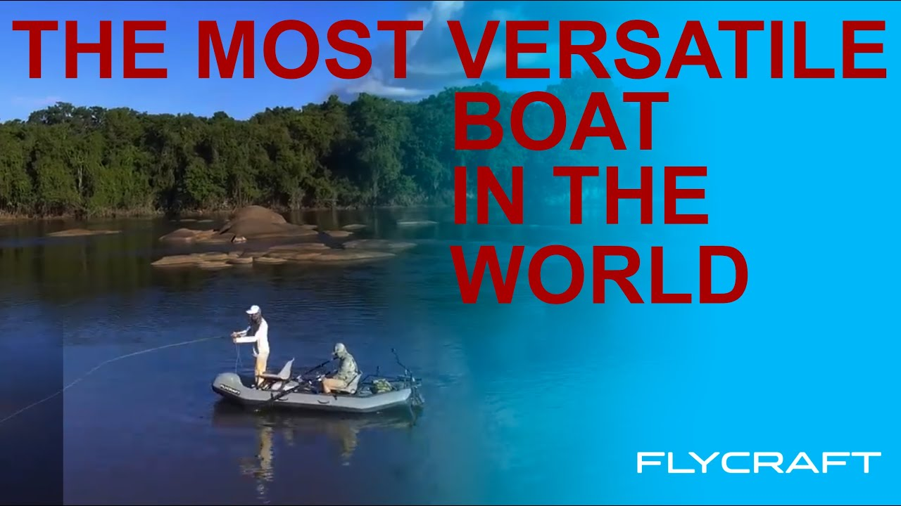 The Flycraft Stealth Inflatable Fishing Boat Features