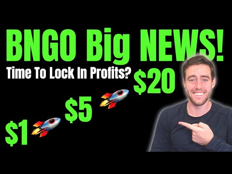 BNGO UP BIG! New Study Published! Is It Time To Sell Bionano Or Buy More?!