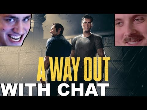 Forsen & Soda play: A Way Out (with chat)