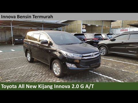 Toyota Kijang Innova 2.0 G A/T [AN140] review - Indonesia