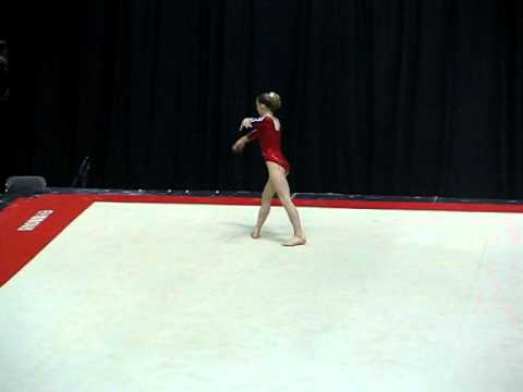 Bridget Sloan 2006 Gymnix International Floor