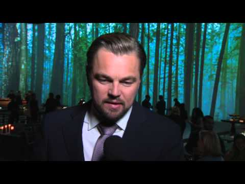 "The Revenant: Leonardo DiCaprio ""Hugh Glass"" Premiere Party Movie Interview"