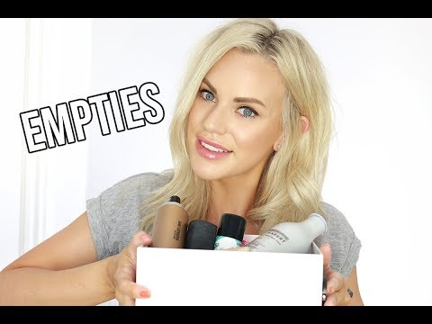 EMPTIES AND PRODUCT REVIEWS    HAIR AND BEAUTY