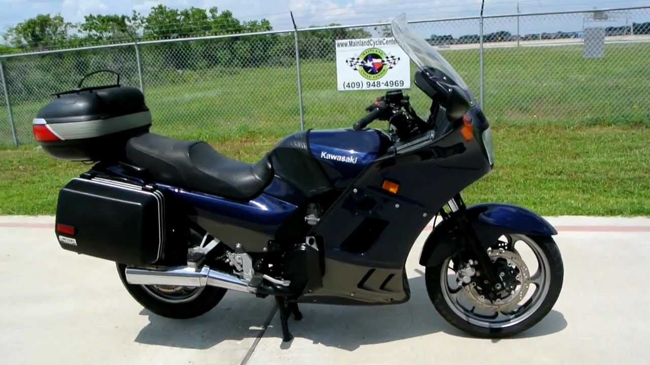 2006 Kawasaki Concours 1000 ZG1000: Overview, Review and Walk Around ...