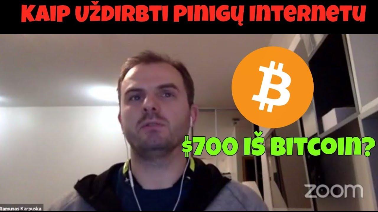 kaip kasti bitcoin)