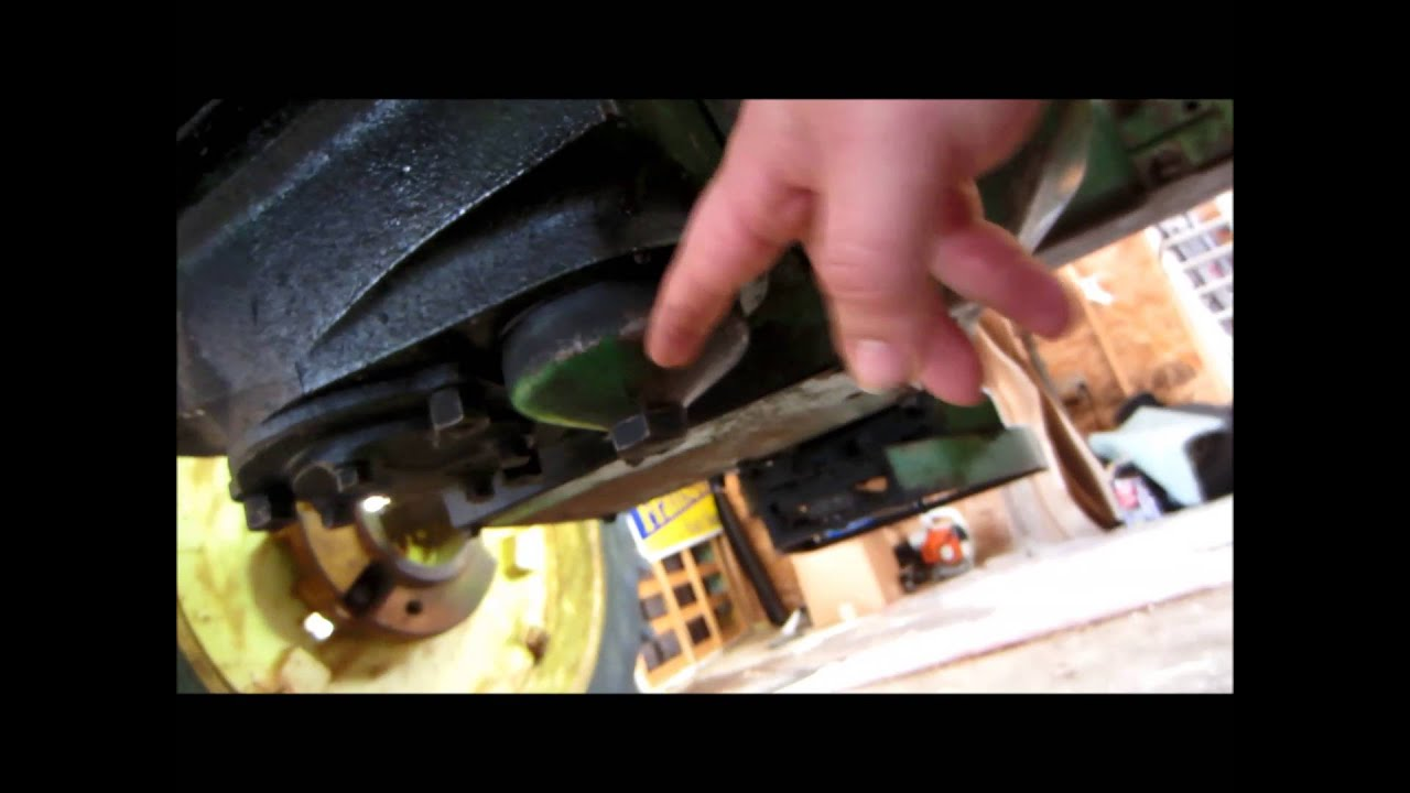 hight resolution of how to check and change the oil on a john deere a b and g tractor