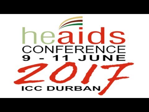 HE AIDS Conference 2017 - Durban, 09 June 2017