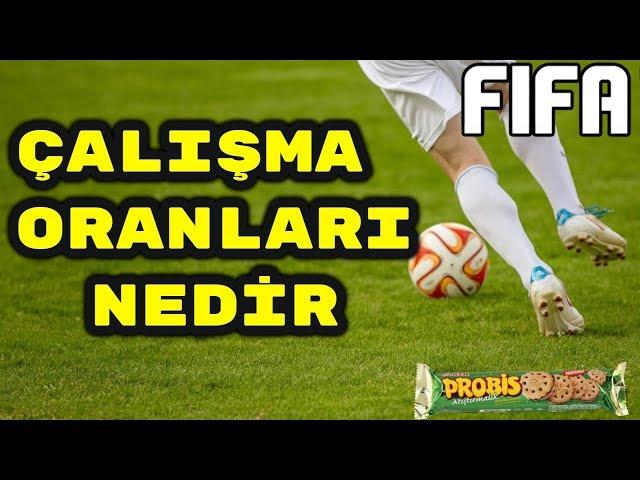 FIFA 19 - Oyuncu Çal??ma Oranlar? Nedir - Pozisyona Göre En ?yi Çal??ma Oranlar?