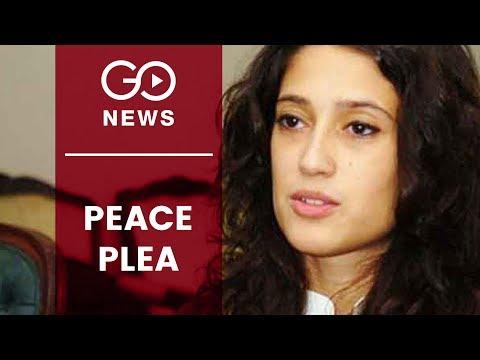 Fatima Bhutto's Call For Peace