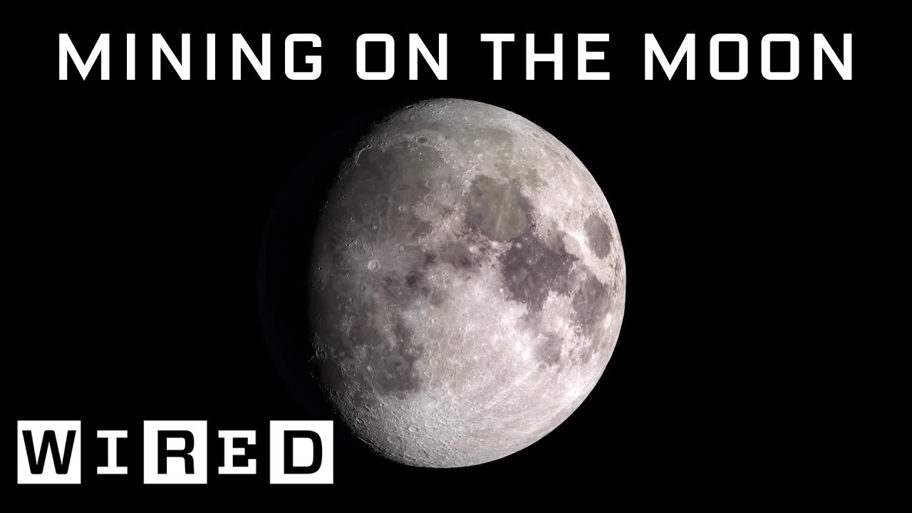 Scientist Explains How Moon Mining Would Work
