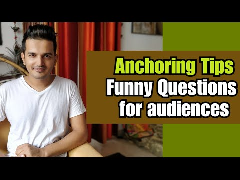 Anchoring Tips | Funny Questions |Audience Interaction Tips | How to Do Anchoring | Girish Sharma