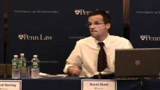 """""""The Financial Crisis Explained,"""" Panel of Law and Wharton Professors (10/3/2008)"""